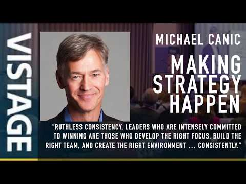 What makes a Great Vistage Speaker? Michael Canic shares experiences from over 450 speaker sessions
