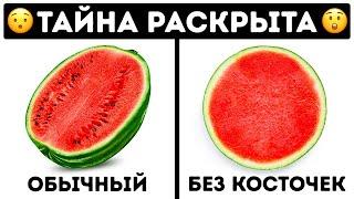 Как растут плоды без косточек или 25 невероятных фактов обо всем на свете!