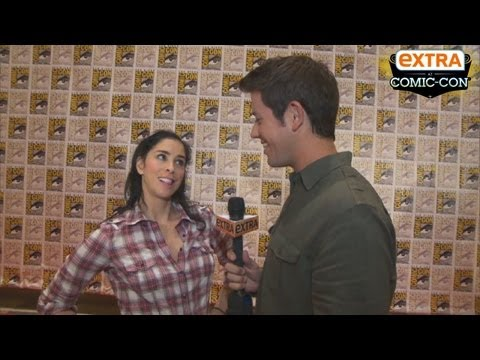 'Extra at Comic-Con': Sarah Silverman on 'Wreck-It Ralph'