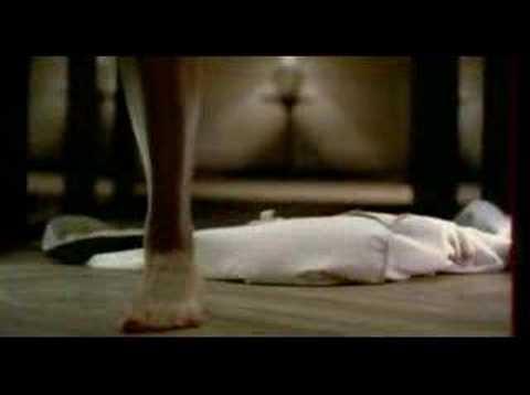 actress Emmanuelle Beart advertising for underwears