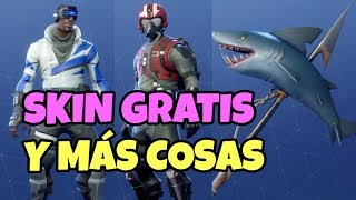 FREE SKIN FORTNITE ARIETE BLUE + BLUE CHANGE AND STARTER PACK COPILOTO AND FANTASMA MOCHILA