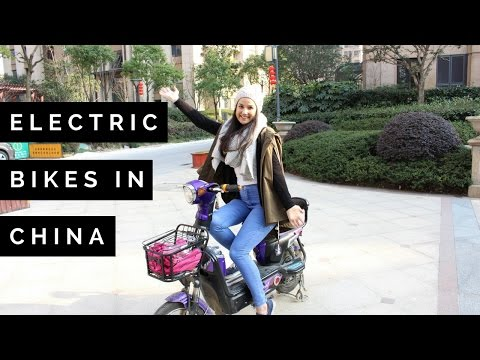Electric Bikes in China | Young Couple Living in China