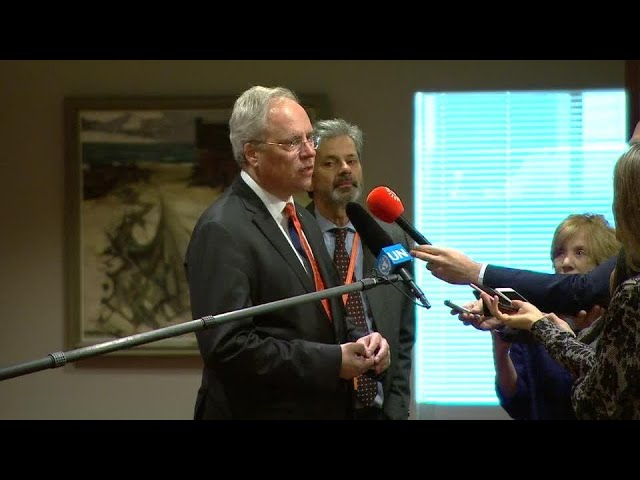 The Netherlands on Syria - Security Council Media Stakeout (17 October 2018)
