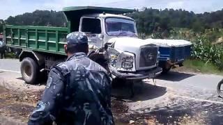 dangerous road accident