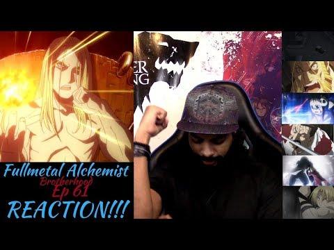 Fullmetal Alchemist Brotherhood Episode 61 REACTION/REVIEW!!!!