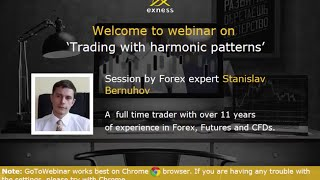 Forex webinar on Trading with Harmonic Patterns