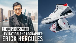 How Erick Hercules Creates Photoshopped-Looking Images In Camera & More | 21 Questions