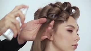 Причёска от школы Руслана Татьянина. Классическая техника накрутики