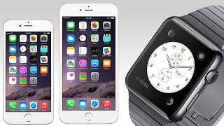 NEW iPhone 6, iPhone 6 Plus, Apple Pay, and Apple Watch! (Keynote Recap)