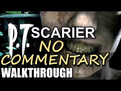P.T. Silent Hills ★ NO COMMENTARY FULL walkthrough movie gameplay PS4 playable Teaser PT Ending