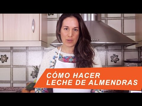 Leche de Almendras, Cómo hacerla / How to make your own Almond milk