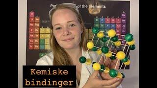 Kemiske bindinger - og deres sammenhæng til det periodiske system, atomer og ioner (fysik/kemi)