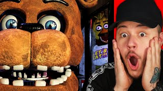 POPRVÉ HRAJU FIVE NIGHTS AT FREDDY'S!