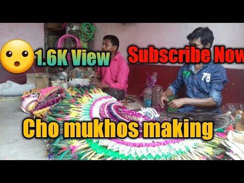 Purulia Cho Mukhos art