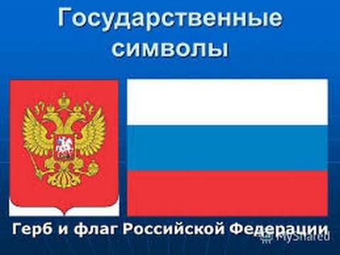 флаг и герб россии. фото
