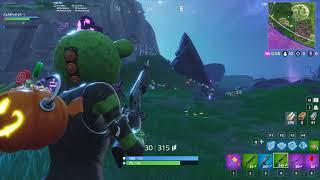 Fortnite, New Skin' Spooky Team Leader, Game Play