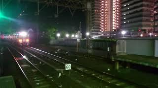 南海高野線 北野田駅 8300系(8314+8713編成) 回送通過