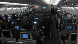 northwest airlines a332 nrt bkk prior to cabin door closing announcements