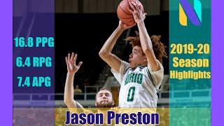 Https://nextones.com/player/jason-preston#jasonpreston #ohiobobcats #nextones jason preston, a sophomore guard, earned all-mac second team awards in his seco...