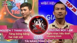 gia dinh tai tu - tap 28  tang bong bang 2 mat vot  nghe nhac hieu doan chuong trinh  27032016