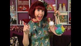 Velveteen Lounge Kitsch-en: Christmas Crafts From The Bar