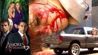 Amores Verdaderos: ¡Cristina sufre un terrible accidente! | Escena - C60
