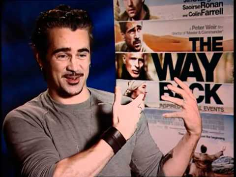 'The Way Back' Interview: Colin Farrell