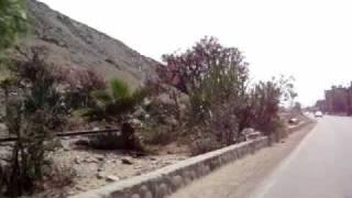 A espaldas de la atarjea de Sedapal (Lima - Peru