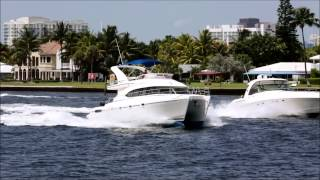 46 Power Catamaran | NAUTI CAT | Catamaran VS. V Hull