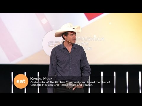 Why Food Is The New Internet Kimbal Musk Eat