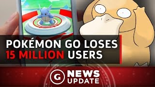 Pokémon GO Loses More Than 15 Million Daily Users in a Month - GS News Update