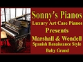 Art Case Spanish Renaissance Style Baby Grand from Sonny's Pianos Marshall & Wendell Luxury