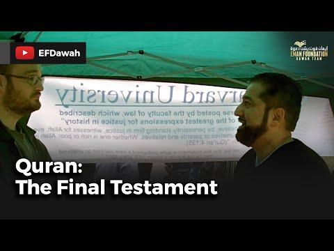 Quran the final testament