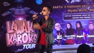Tajul Ariff - Sedalam Dalam Rindu ( Jomkaroks tour @ Mydin MITC Melaka )