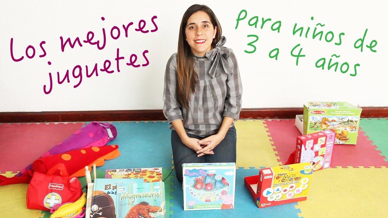 Los 7 Mejores Juguetes Para Niños De 3 A 4 Años Youtube