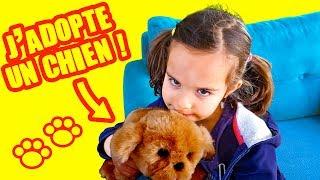J'ACHETE UN CHIOT! Amantine ADOPTE SNUGGLE PUPPY _ DEMO JOUETS