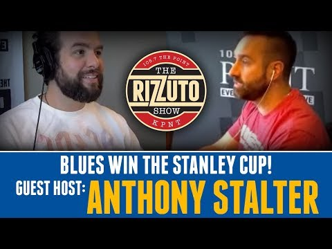 Anthony Stalter talks BLUES Stanley Cup Win [Rizzuto Show]
