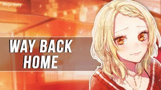 Nightcore - Way Back Home 🍀 Lyrics MP3