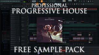 Full Progressive House Song FLP (FREE SAMPLE PACK DOWNLOAD)