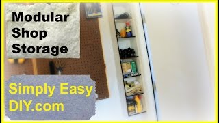 Diy: Modular Shop Storage
