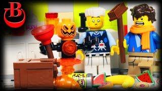 Lego Ninjago School Robot Building Challenge - Part 2