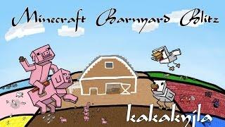 Minecraft Barnyard Blitz. Разборки Домашних Животных