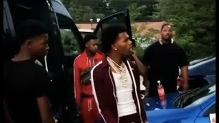 Lil Baby Aint Taking No Disrespect From Goons In STL