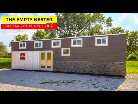 The Empty Nester: 40ft. Tiny Home by Custom Container Living