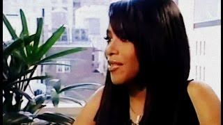 Aaliyah New York City 2001 Interview