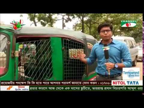 CNG Driver, Mostofa Firoz at Channel i program The Traffic Signal