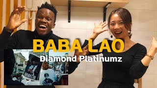 Diamond Platnumz - BABA LAO| Reaction Video In Swahili| Korea