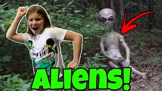 Something Strange Is Happening! The Alien Is Back! Come Play With Us