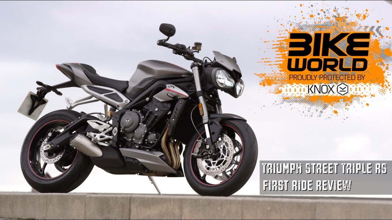 triumph street triple 765 rs launch review first ride youtube. Black Bedroom Furniture Sets. Home Design Ideas