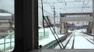 【4K2160p】大糸線下り南小谷行き(信濃木崎~神城)前面展望